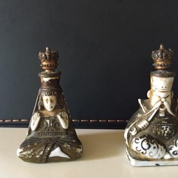 Old perfume bottles - Asian