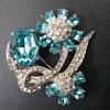 Joseph Wiesner NY floral brooch