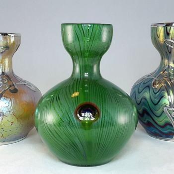 Signed Loetz Phänomen genre 6893 Series I PN 7772 - Art Glass
