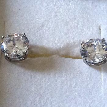Silver earrings  - Fine Jewelry