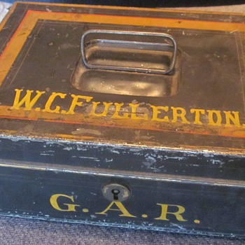 GAR Metal Box - Military and Wartime