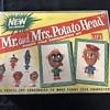 Mr. and Mrs.  Potato Head  game 1950's