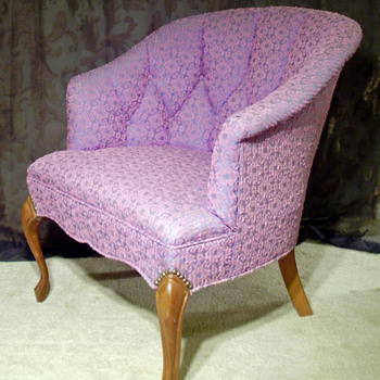Lavender and plum chair - Furniture