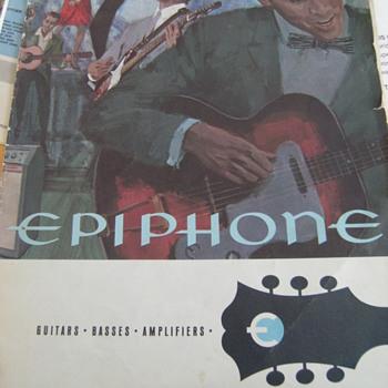 Vintage Epiphone Guitar Catalog - Guitars
