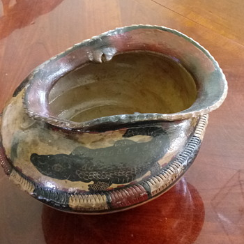 Hand mad pottery