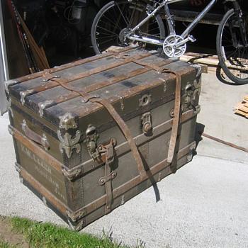 Moosejaw Steamer Trunk - Furniture