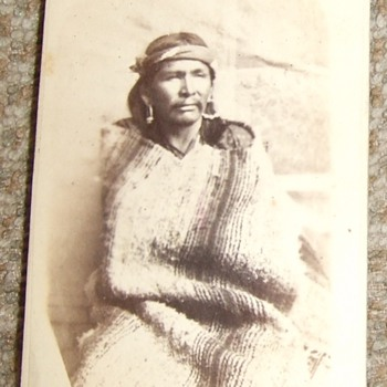 "Native American ""War Chief"" CDV - Photographs"