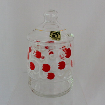 Lolly jars by Aderia Glass - Glassware