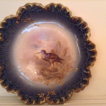 L.CHARLES signed plates - China and Dinnerware