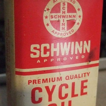 Schwinn Cycle Oil Can 4 oz. - Petroliana