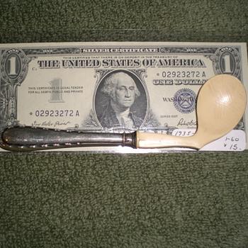 Unusual .800 silver hallmarked spoon?