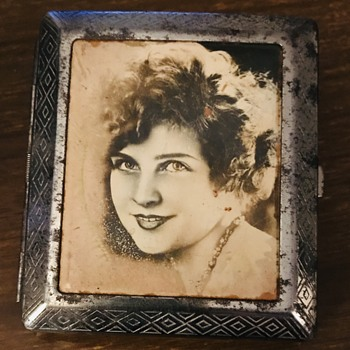 Mystery Lady on a Cigarette Case - Movies