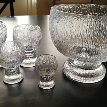 KEKKERIT by Timo Sarpaneva Iittala 1970/1980  - Art Glass