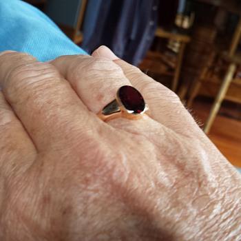 antique mens rings