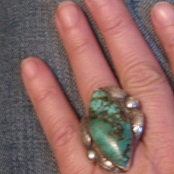Big turquoise ring - new? - Fine Jewelry