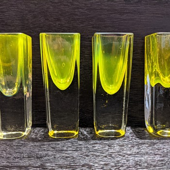 shot glasses from Serbia - Art Glass