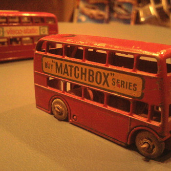 Every die-cast Toy maker made a British Bus...