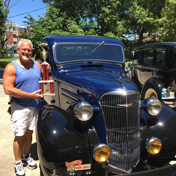 Savannah, my 1937 Chevrolet pickup truck takes home 1st place trophy  - Classic Cars