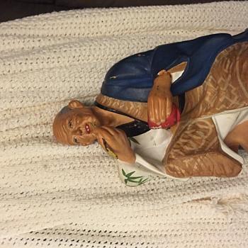 Hakata doll original eating rice