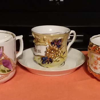 Mustache Cups - China and Dinnerware