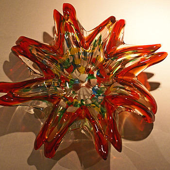 AVEM Tutti Frutti center piece bowl - Art Glass