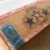 Three Star Junior Straights cigar box
