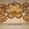 Nut Bowls Bavaria / Limoges Porcelain