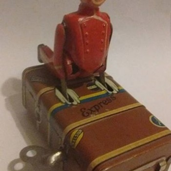 1930's express boy windup Toy  - Toys