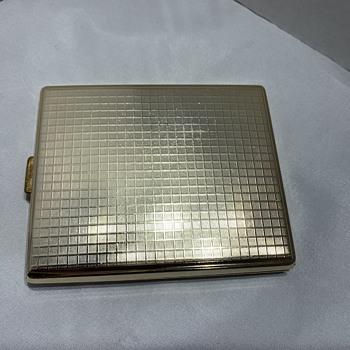 Gold Cigarette Case - Tobacciana