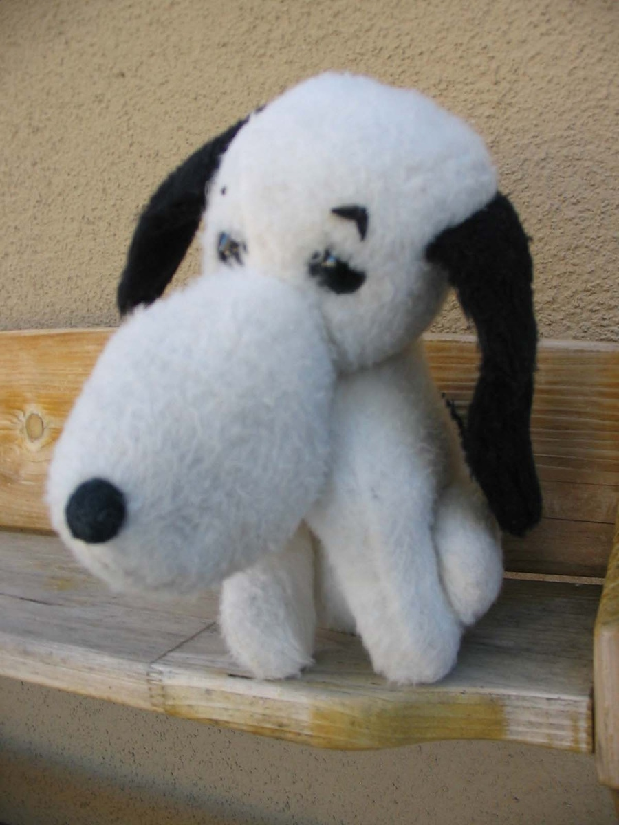 Vintage Wind Up Peanuts Snoopy Plush Collectors Weekly
