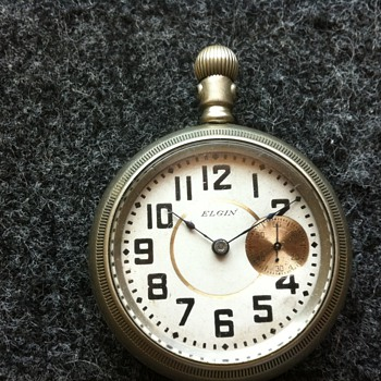 1898(?) Elgin Pocket Watch