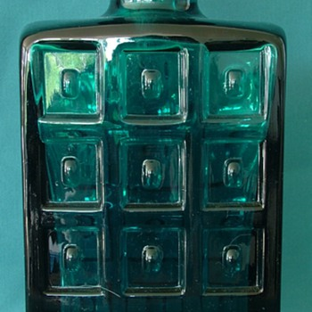 ?Scandinavian Art Glass Decanter - Bottles