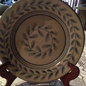Antique Handmade Christian Bowl - Kitchen
