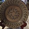 Antique Handmade Christian Bowl