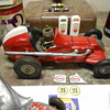 lastest finds....tether cars and old race car!