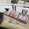 Antique Glass Perfume Set