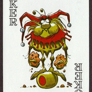 Jack Davis Raid Bug playing cards - Cards