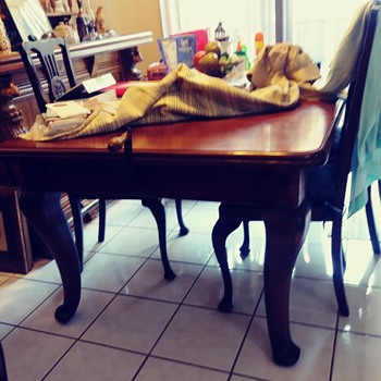 "My inherited ""antique"" table.  - Furniture"
