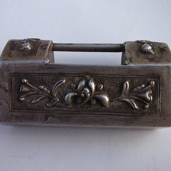 Unknown Chinese Sterling Box - Silver