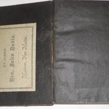 Japanese Bible 1886 Rev. John Davis