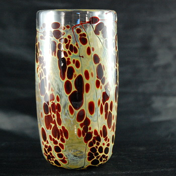 Bendzunas Cylander Vase - Art Glass