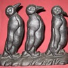Vintage Waddle of Penguins Doorstop