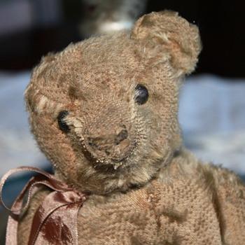 Antique mohair Teddy bear - Dolls
