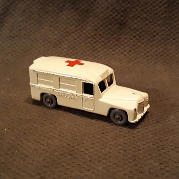 Medical Miracle Matchbox Monday MB-14B Daimler Ambulance 1958-1961 - Model Cars