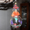 Signed Glass Clown Ornament