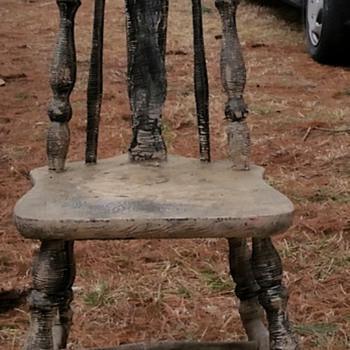 windsor brace-back chair?  - Furniture