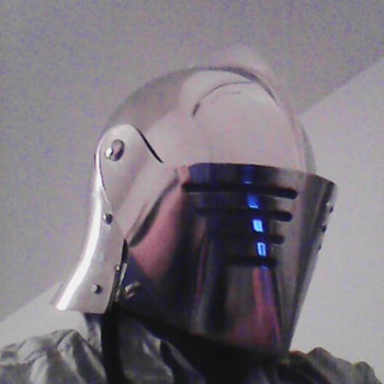My Knight's Helmet - Military and Wartime
