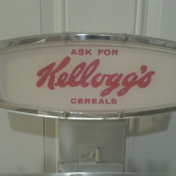 Kelloggs Cereal Display Rack - Advertising
