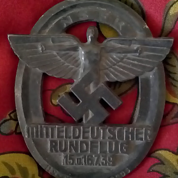Nazi Badge1939 and medal.  - Military and Wartime