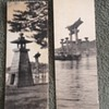 Antique Japan/China RPPC Reading Bookmarks??